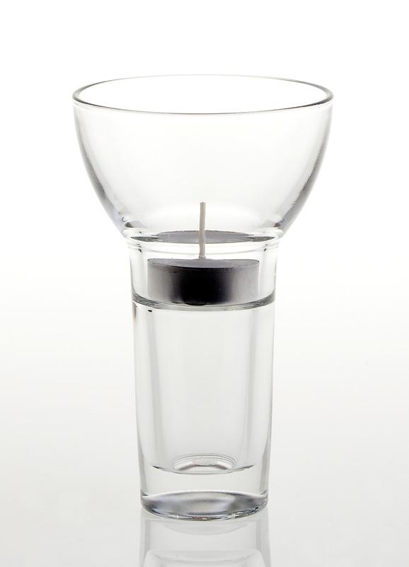 høje lysestager glas